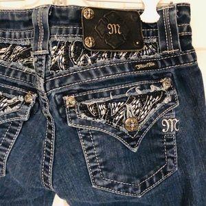 Miss Me embellished jeans sz 25